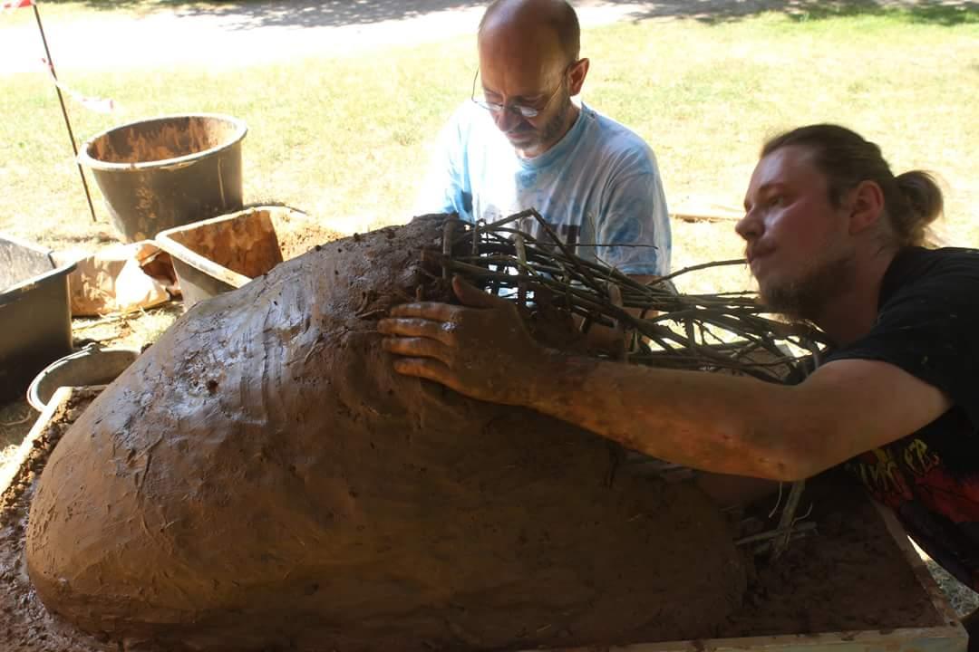 Brot backen wie in der Steinzeit