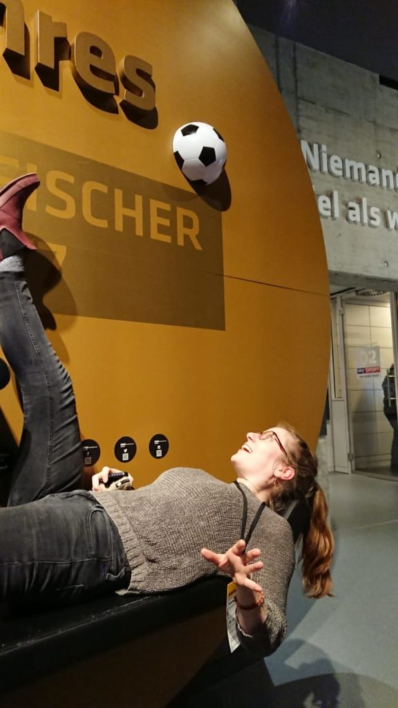Zu Besuch im Fußballmuseum
