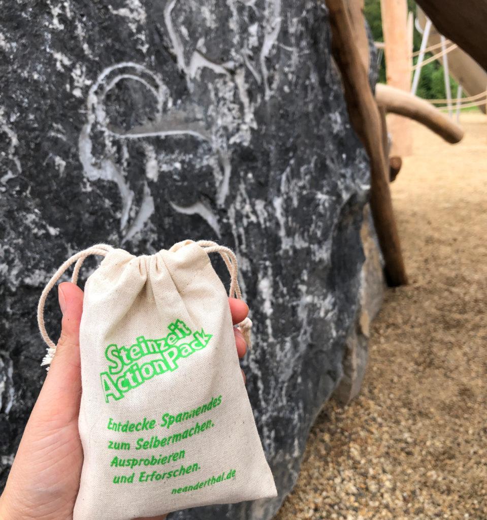 SteinzeitActionPack im Stoffbeutel