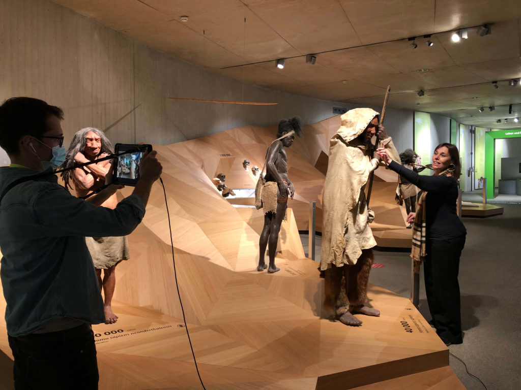 Online-Führung im Neanderthal Museum